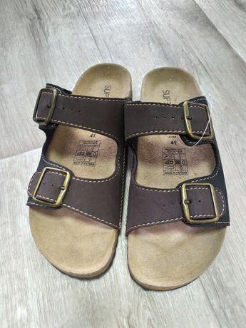 Ортопедические шлепки мужские сандали босоножки 41 размер ( биркеншток