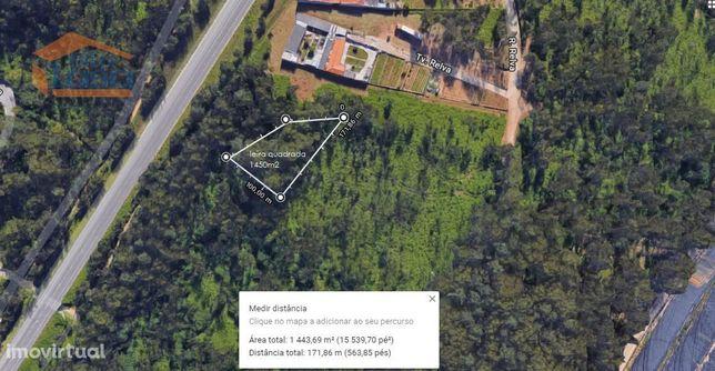 Terreno na zona industrial de Serzedo com 1.450 m2