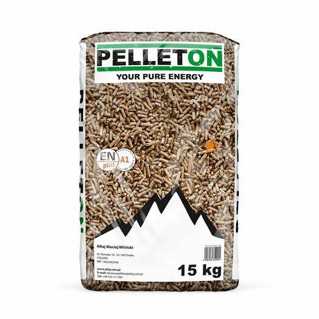 PROMOCJA Dostawa GRATIS PELLETON A1 pellet drzewny certyfikowany lava