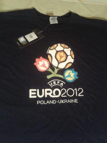 Новая  футболка Евро 2012 Made in UK. ORIGINAL XL