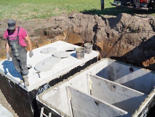 Szamba betonowe 3 komorowe trzykomorowe szambo zbiorniki oczyszczalnia