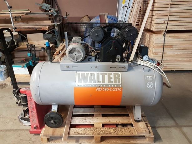 Sprężarka kompresor Walter + osuszacz Atlas Copco