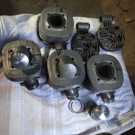 Czesci silnika simson schwalbe, s50, sr4-4