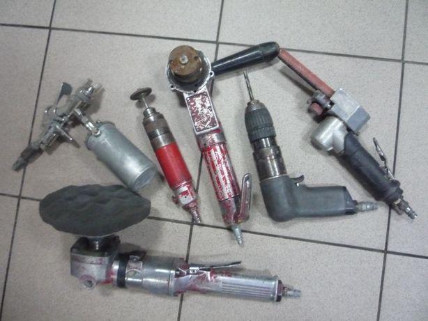 Zestaw narzędzi pneumatycznych + gratis