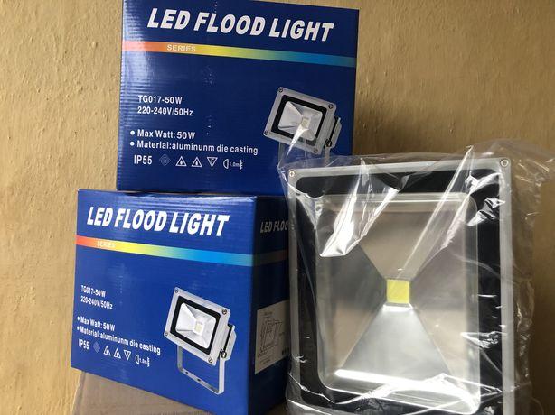 Halogen LED 50 W aluminium