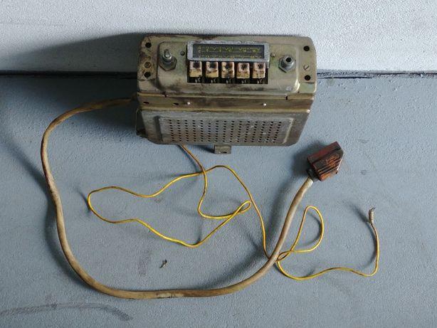 Radio Wołga Pobieda Warszawa Gaz 20 21 Moskwicz . Radio z 1966