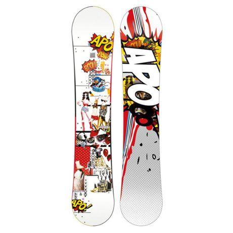 Deska snowboardowa APO Podium 148 cm NOWA