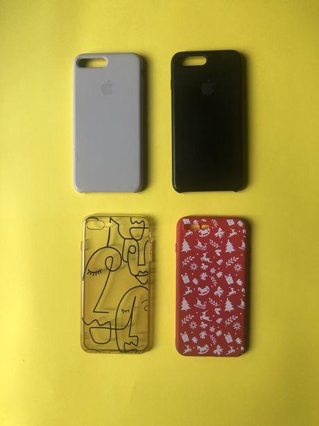 Чехол для Iphone 8+ (бесплатная доставка)