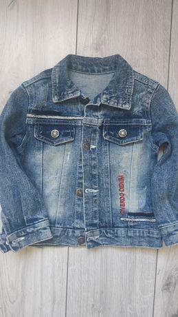 Джинсовый пиджак на рост 92