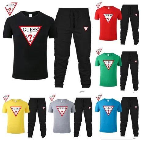 Komplet męski z logo Guess kolory M-XXL!!!