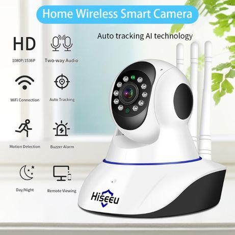 Беспроводная IP видео камера Hiseeu FH1C 1080P (2MP) WiFi, видеоняня
