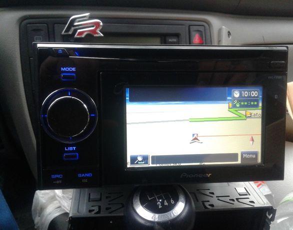 Radio Navigacja VW Passat B5 T4 Multivan 2 Din Pioneer Oryginał Navi