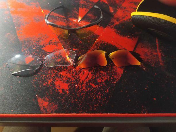 Wielofunkcyjne okulary sportowe/rowerowe marki google