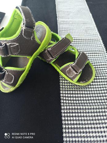 Sandalki 25 zielone