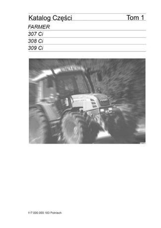 Instrukcja Obsługi w języku polskim Fendt Farmer 307, 308 309 Ci