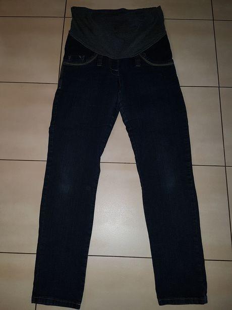 Ciążowe jeansy M-L