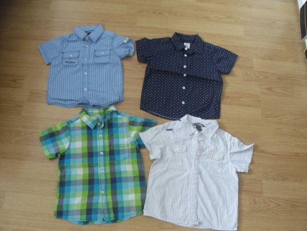 рубашки тенниски на мальчика разм 98-104