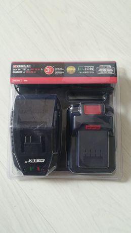NOWY Akumulator litowo-jonowy 20 V, 2 Ah z ładowarką 65 W 3l.gwarancji