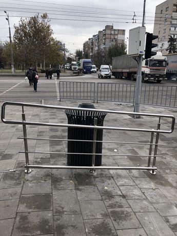 Перила, ограждения, велопарковки из нержавеющей стали
