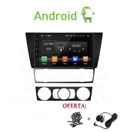 (NOVO) Rádio 2DIN BMW Serie 3 • E90 E91 E92 E93 • Android GPS 320