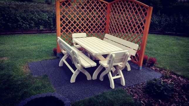 Meble ogrodowe - komplet , zestaw ogrodowy , ławy, ławki, stoły