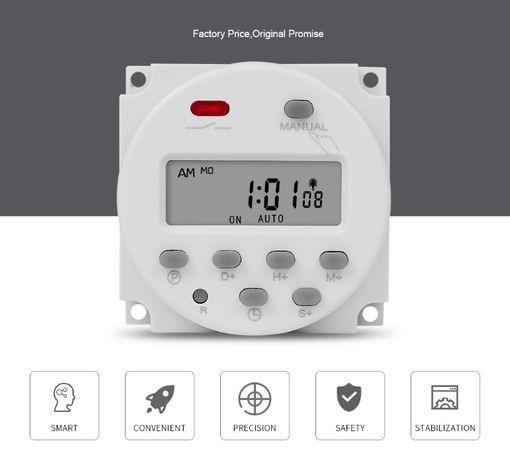 Temporizador (min 1 segundo) - relógio programador digital 7 dias 220V
