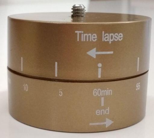 Głowica TimeLaps do GoPro7/6/5/4 SJ4000 Yi4K 60min