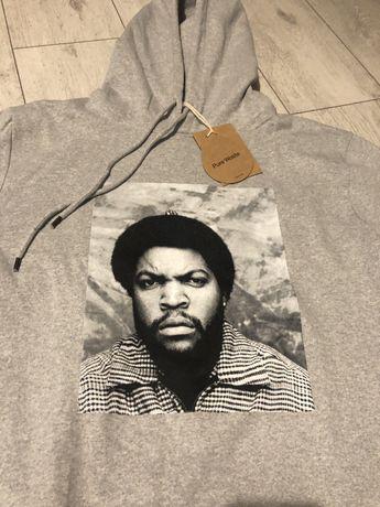 Nowa bluza Ice Cube hoodie meska szara M streetwear