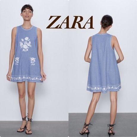 Очень красивое платье Zara, отлично подойдет для беременности