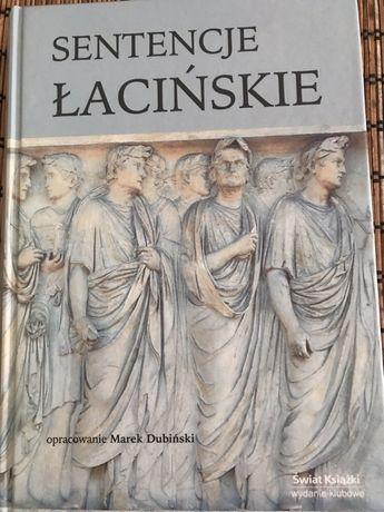Sentencje łacińskie - dubiński - świat książki