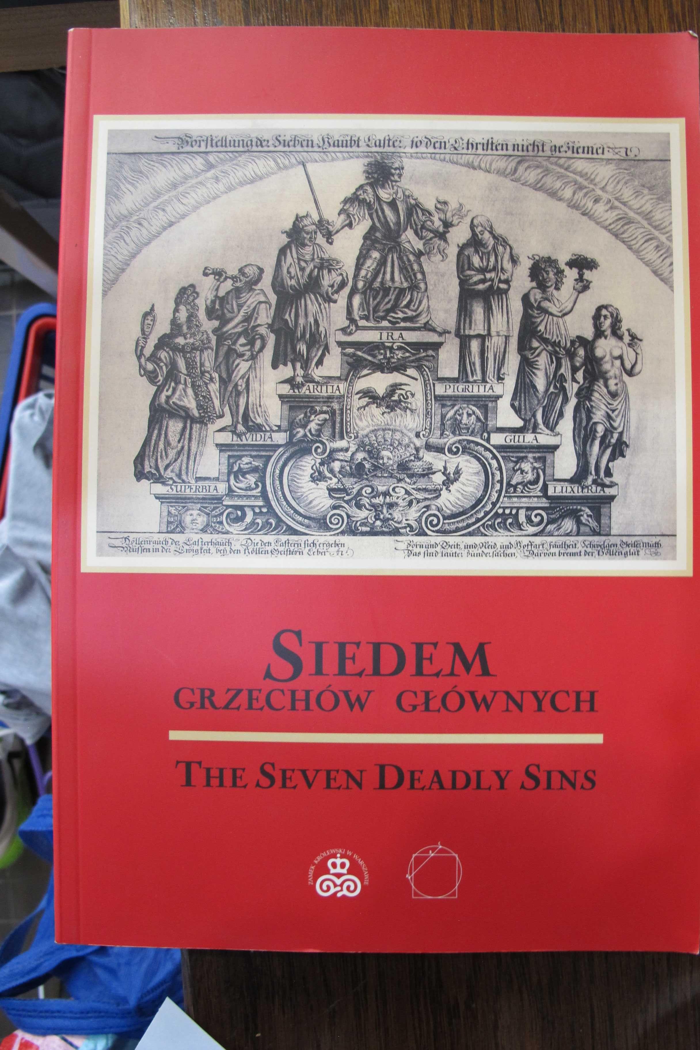 Siedem Grzechów Głównych -Ryciny-Zamek Królewski w Warszawie