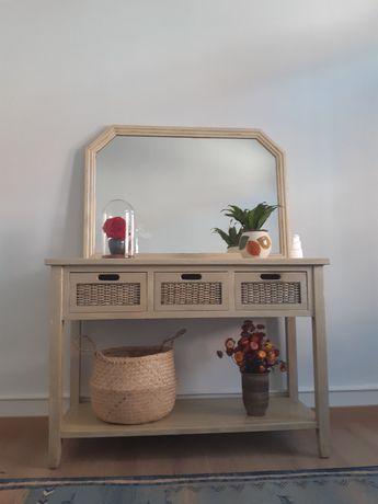 Movel aparador e espelho