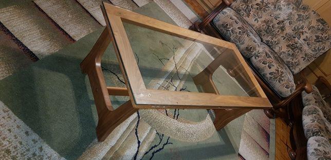 ława solidna stolik