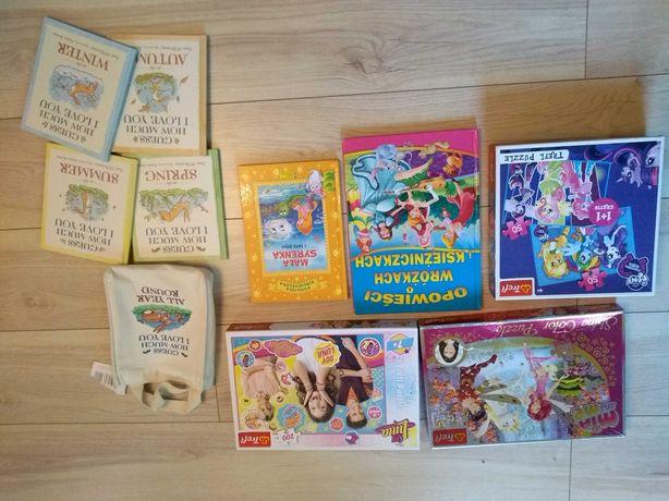 Puzzle pony Mia i ja luna książki nowe syrenka wróżka
