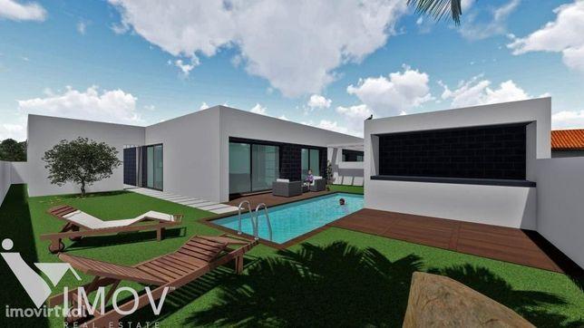 Terreno construção d Moradia T3 c piscina, projeto aprovado, ao P. Amb