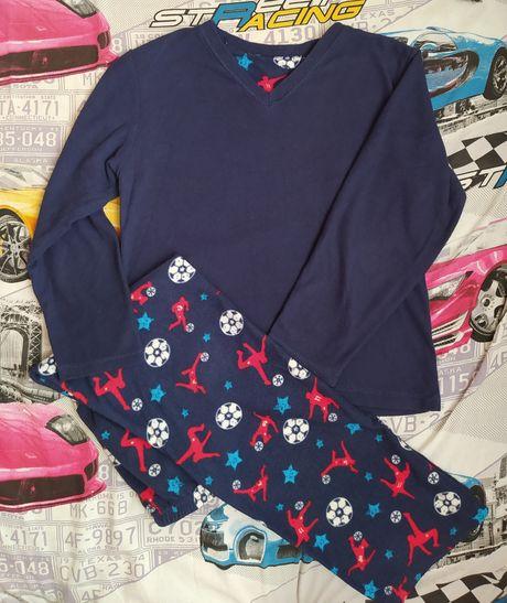 пижама флисовая 134р