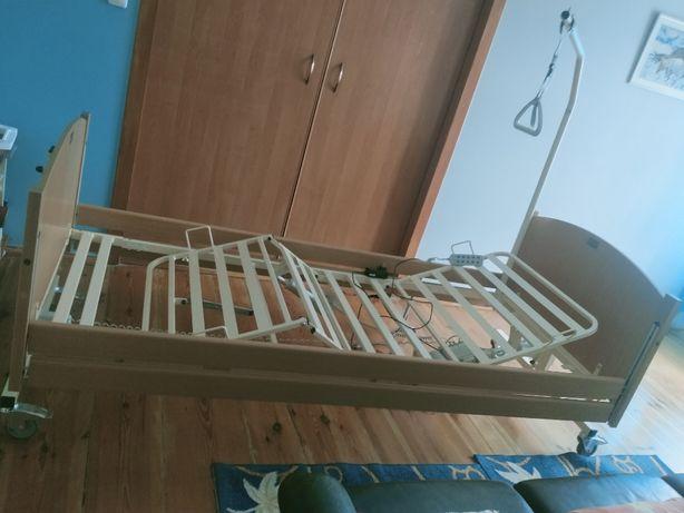 sprzedam łóżko rehabilitacyjne z przedłużką na 220cm