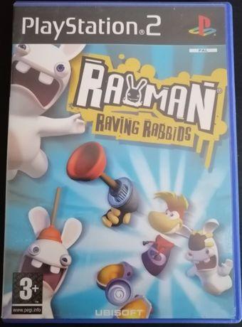 Playstation 2 - Rayman Raving Rabbids