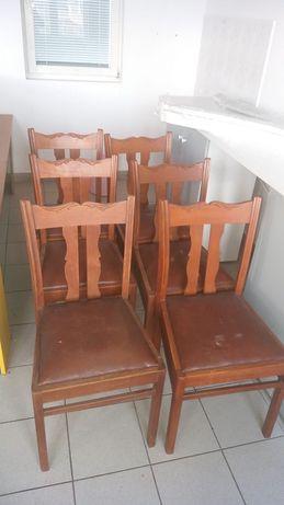 Krzesła debowe
