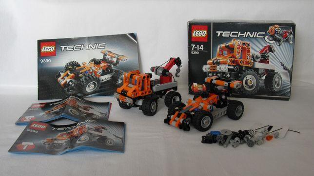 LEGO Technic 9390 Mini pomoc drogowa unikat 7-14 lat