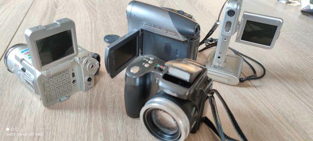 3x Kamera cyf. Silver Crest + SAMSUNG DIGITAL VP D371 + KAMERA JVC DV7