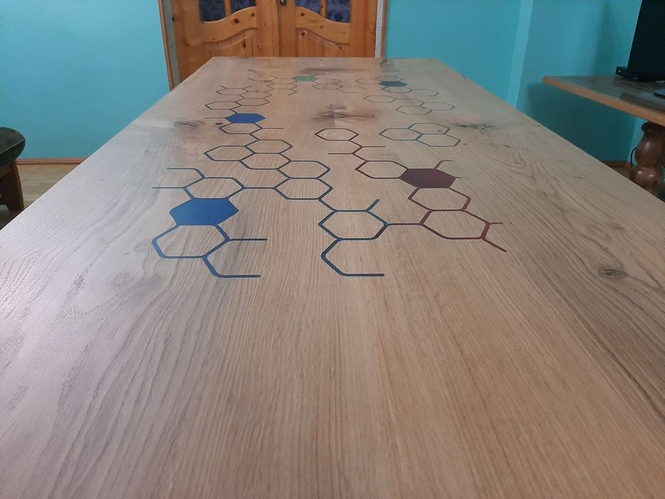 Стіл кухонний з дуба Лесная Слободка - изображение 1