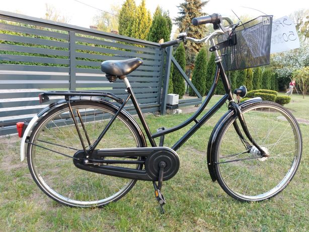 Rower czarny damka niemiecka