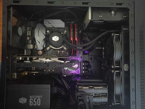 PC Torre Desktop Gaming i5-8600K, GTX750Ti 4GB, 16GB RAM, Watercooling