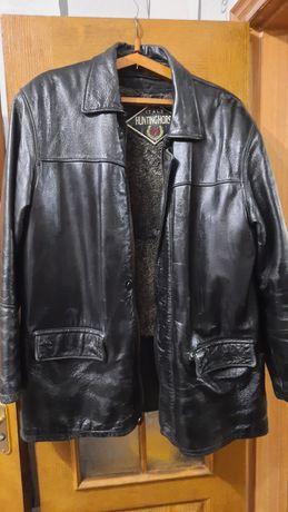 Шкіряна куртка демісезонна