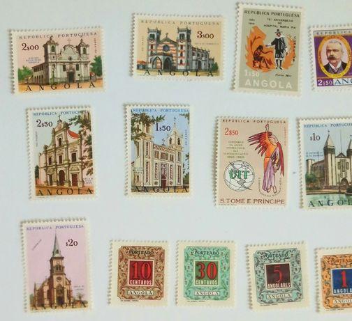 Selos antigos, de Portugal e das colónias