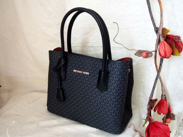 Czarno szara torba Michael Kors damska torebka do ręki