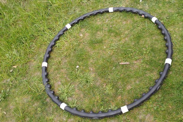 hula hop z masażem składane rozkładane demontowalne przenośne