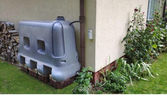 zbiorniki na deszczówkę- naziemne i podziemne