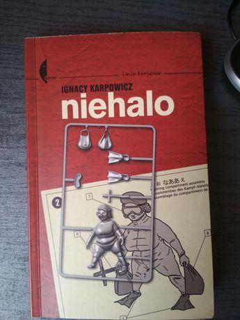 Książka Niehalo - zamienię